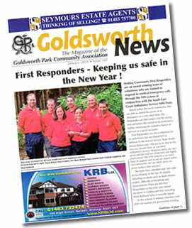 WCFR in Goldsworth News